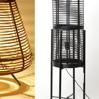 מנורה עומדת – BAMBOO טבעי