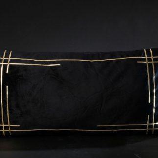 כרית נוי מלבנית – TOUCH שחור