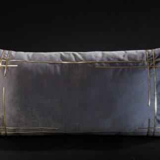 כרית נוי מלבנית – TOUCH אפור כהה