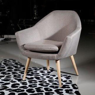 כורסא – ADELLE אפור חאקי