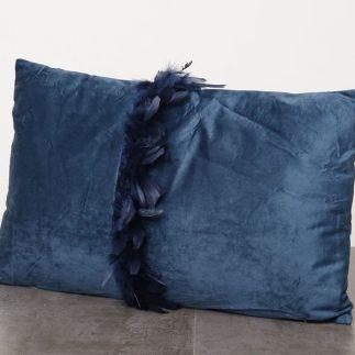 כרית נוי מלבנית – TUTU שחור/ירוק/בורדו/כחול