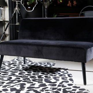 כורסא זוגית/מיני ספה – ALEXIS שחור