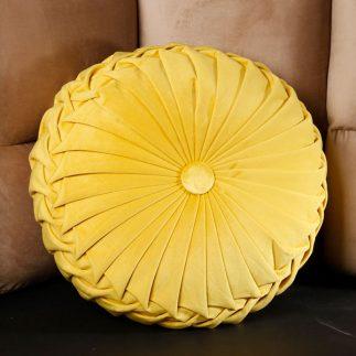 כרית נוי – SPIRALA צהוב