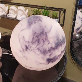 מנורה – MARBLE BALL גדול/קטן