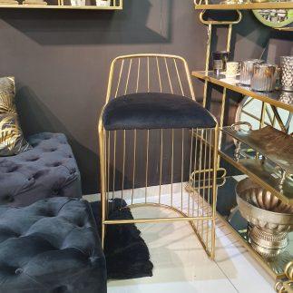 כיסא בר – SUPERSTAR שחור