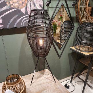 מנורה עומדת – BAMBOOK שחור