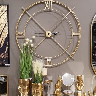 שעון – ROME זהב
