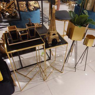 זוג שולחנות – GULBUL זהב
