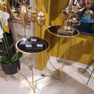 זוג שולחנות – GULGUL זהב