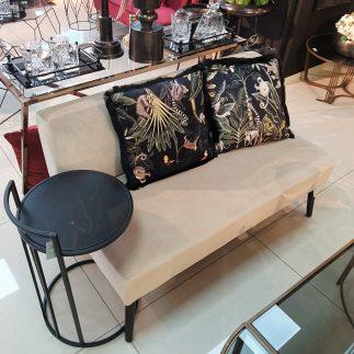 כורסא זוגית/מיני ספה – ALEXIS שמנת