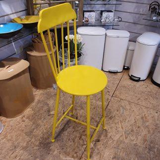 כיסא בר – BRASSERIE צהוב