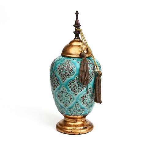 אגרטל + מכסה - TURKIZ גדול/בינוני/קטן