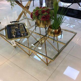 שולחן – TRIANGLE XL זהב