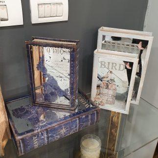 זוג ספרים לאחסון ונוי – BRAVE
