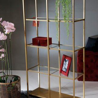 ארון מתכת – BRONX זהב