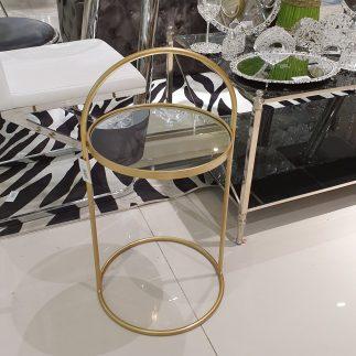 שולחן צד – MOON זהב