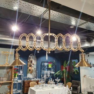 מנורת תקרה – COLMAN זהב/כסף