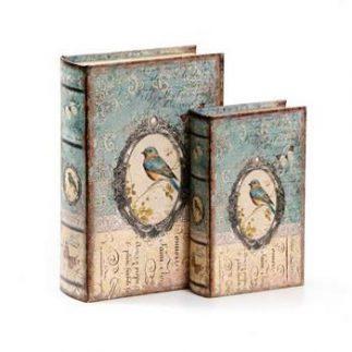 זוג ספרים לאחסון ונוי – LINNET