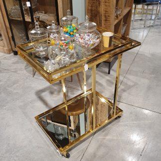 עגלת תה – SUPER STYLE זהב