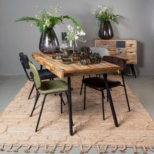 שולחן אוכל - TOLEDO גדול/קטן