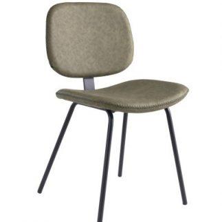 כיסא – SANTIAGO חרדל/ירוק