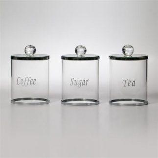 סט תה קפה סוכר X-RAY כסף