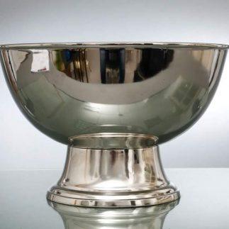 קערת הגשה/שמפניירה – CARLO זהב/כסף
