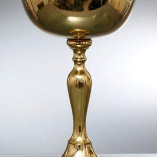 קערה על רגל – CARLO זהב/כסף