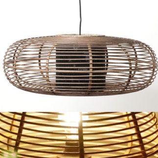 מנורת תקרה – BAMBOO גדול/קטן