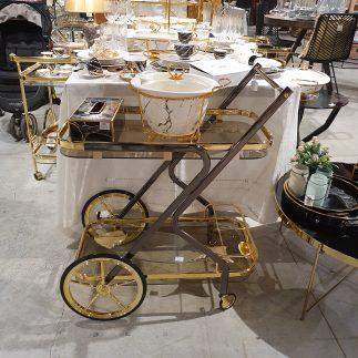 עגלת תה – FASHIONISTA זהב