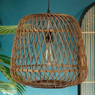 מנורת תקרה – BAMBOOK טבעי