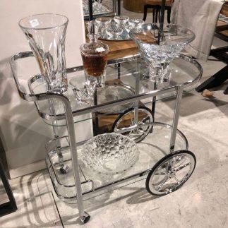 עגלת תה – ALISA כסף