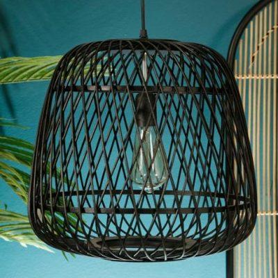 מנורת תקרה - BAMBOOK שחור