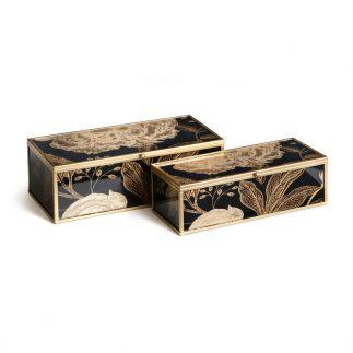 זוג קופסאות תכשיטים – FIFI מלבן