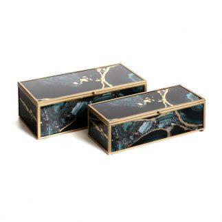 זוג קופסאות תכשיטים – FILI מלבן