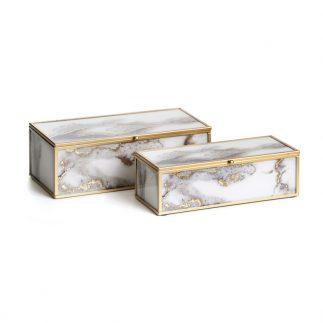 זוג קופאסאות תכשיטים – FIZI מלבן