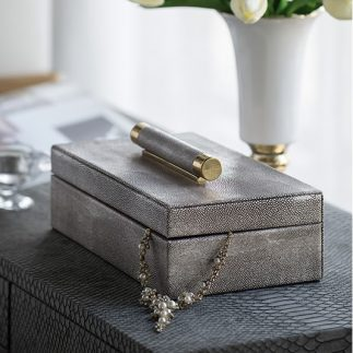קופסת תכשיטים – SNAKESKIN 2.0 גדול/קטן