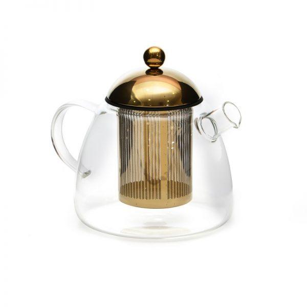 קומקום תה - NENE זהב/כסף