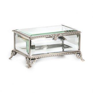 קופסת תכשיטים – LARA כסף/זהב