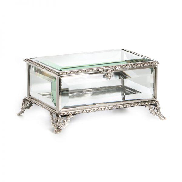 קופסת תכשיטים - LARA כסף/זהב