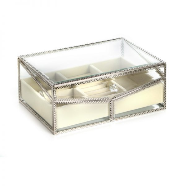 קופסת תכשיטים - DIAN זהב/כסף