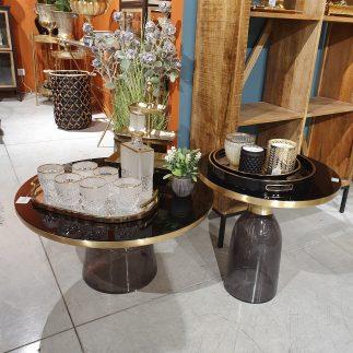 שולחן – PRIMAVERA שחור גדול/קטן
