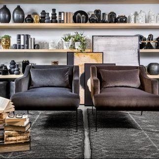 כורסא – SPARTA אפור/חום