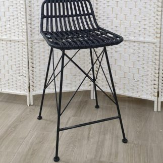 כיסא בר – MARRATANIA שחור