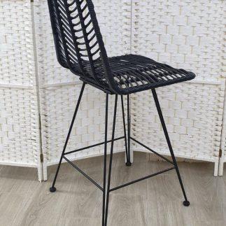 כיסא בר – MARRATAN שחור