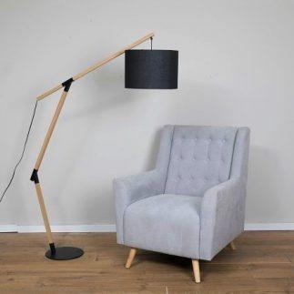 מנורה עומדת – CAPELLO שחור