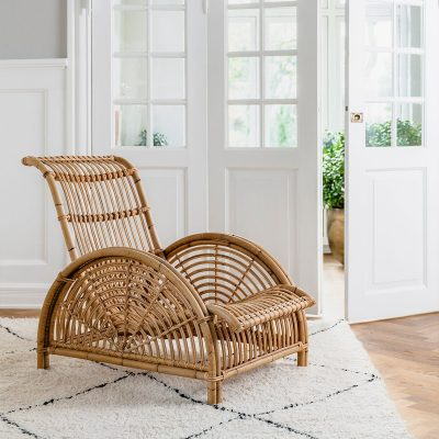 כורסא מעוצבת מראטן - PARIS