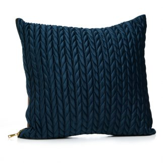 כרית נוי – SHELL כחול