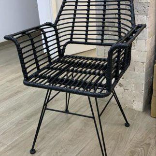 כיסא – MARRATANIA שחור