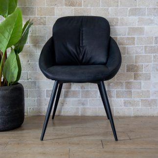 כיסא אוכל – PALLA שחור